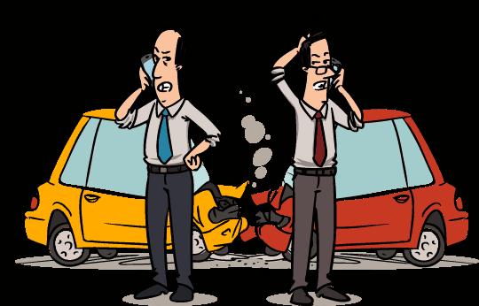 Insurance case claim illustration