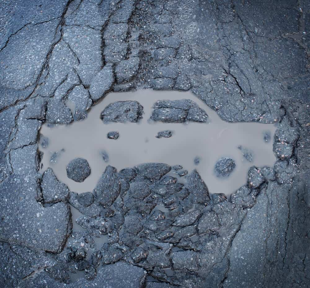The UK's pothole problem - How to protect your car from damage